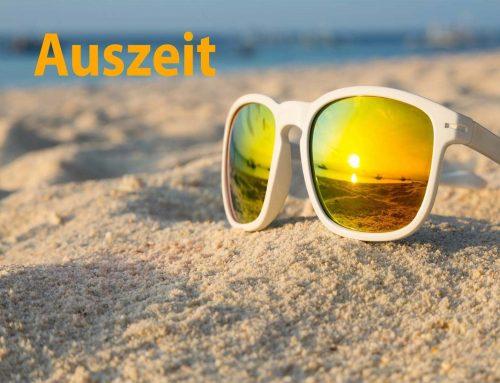 Gesegnete Sommerzeit!