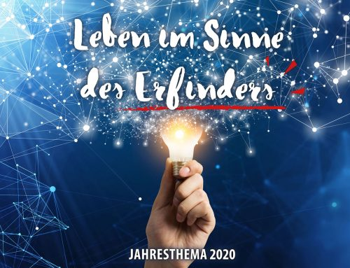 Gottesdienst-Reihe 2020: Leben im Sinne des Erfinders